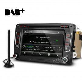 "XTRONS 7"" Car Stereo CD DVD Player DAB+  GPS Sat Nav  Bluetooth"