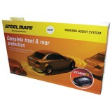 Steelmate PTS800EX Silver Front & Rear Parking Sensors Supply Only